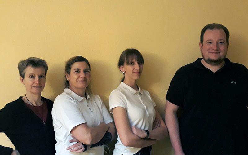 Das Team der Praxis für Physiotherapie Katrin Hellmiss