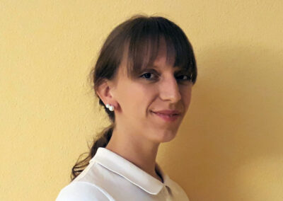 Portrait Lena Wendt - Physiotherapeutin